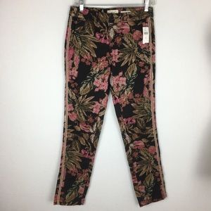 Chino by Anthropologie NWT Floral Pants size 26